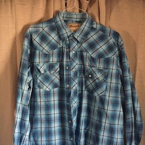 Wrangler Western Fashion Snap Shirt